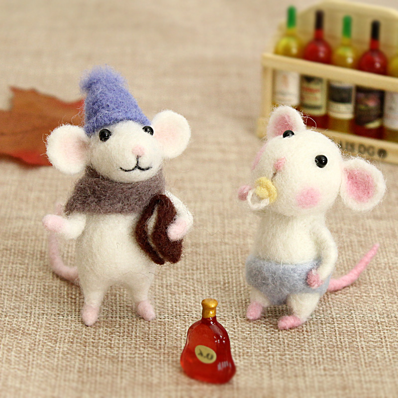 валяные мышки